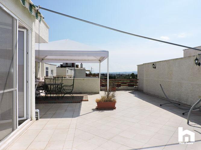 Apartament 2+1+2 për shitje te Mali i Robit Durrës ballkoni 3