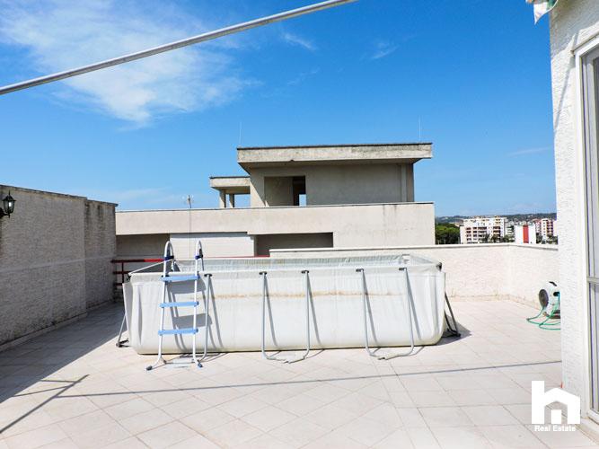 Apartament 2+1+2 për shitje te Mali i Robit Durrës ballkoni 4