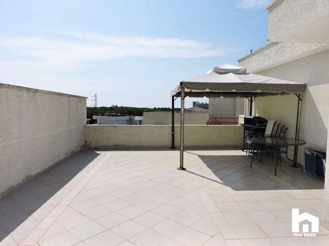 Apartament 2+1+2 për shitje te Mali i Robit Durrës ballkoni