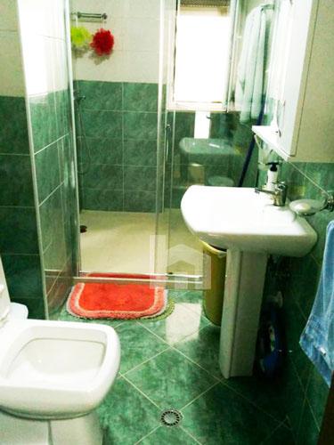 Shitet apartament Kopshti Zoologjik, 1+1, 78 m², tualeti