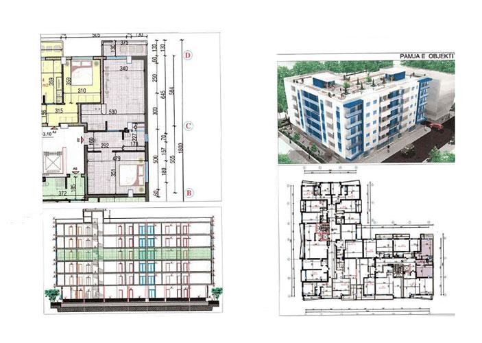 Apartamente në Golem Durres për vetëm 400 Eurom²