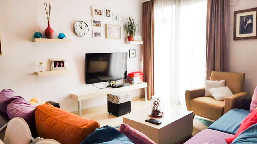 At Barrikadave street, apartment for rent 450 euromonth!