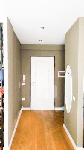 Shitet apartament te kompleksi Delijorgji Tirane, korridor