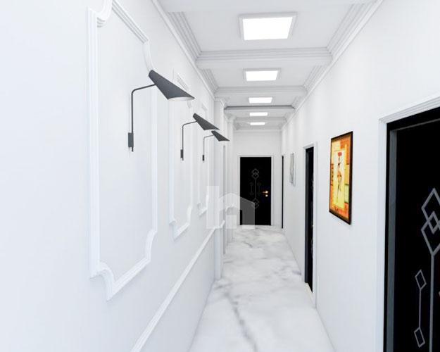 Shiten apartamente te Liqeni Thate Tirane në një godinë të re, ambienti perbashket