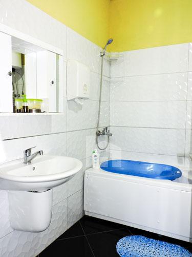 Shitet apartament te Vilat Gjermane ne Tirane, tualet